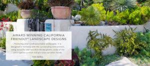 California Friendly Landscape Designs