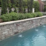 Custom Pool Water Feature