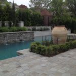 Custom Pool Landscape and Pottery