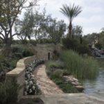 Italian Villa Pathway Surrounding Water