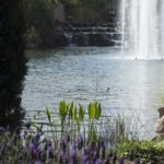 Italian Villa Large Fountain and Waterfall