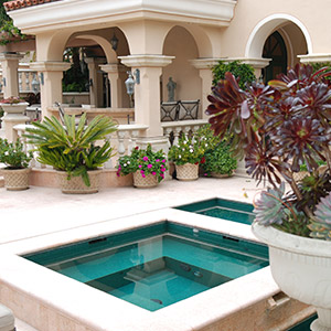 Landscaping Custom Pools