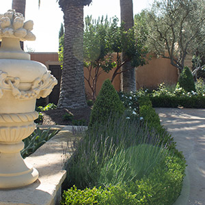 Italian Villa Landscape